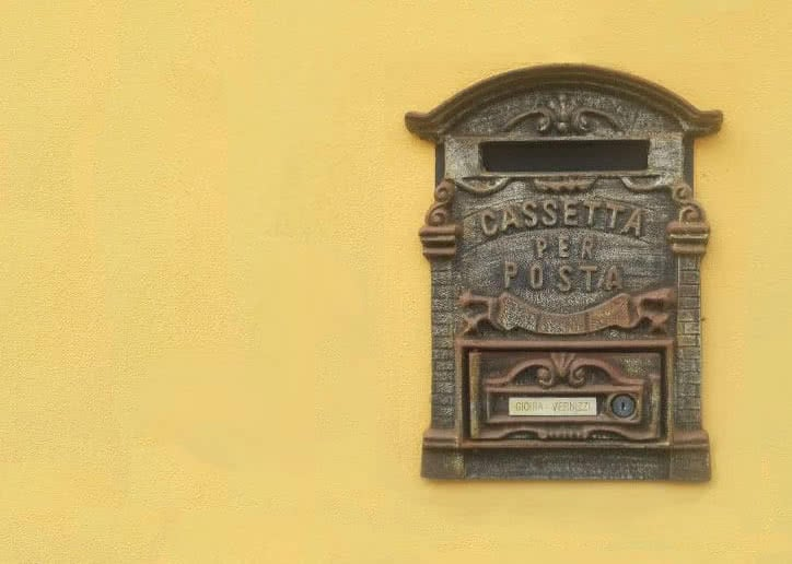 Italian-postbox